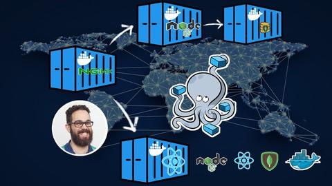 Docker for Developers, Dockerize React, Node, Mongo and more