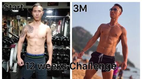 12 weeks Challenge change yourself