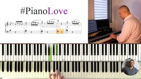 #PianoLove  Курс игры на фортепиано с нуля
