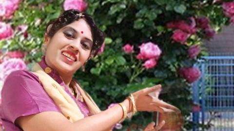 Certified Bharatanatyam Indian Dance Fitness English Course