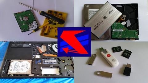 Data Recovery, Hard Drives, USB Drives, etc.
