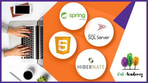 Full Stack Development with Java, MS SQL, Spring, Hibernate