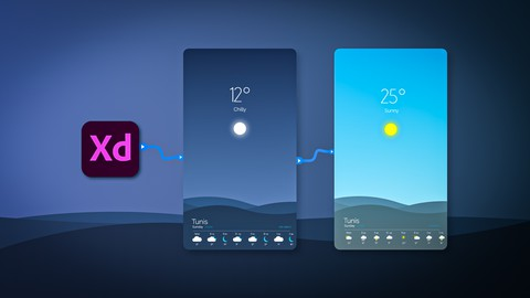 Design And Prototype Your Mobile App - Adobe XD UI/UX Design