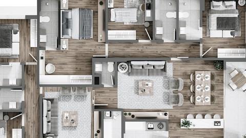 Materiales. Acabados en Arquitectura e Interiorismo.