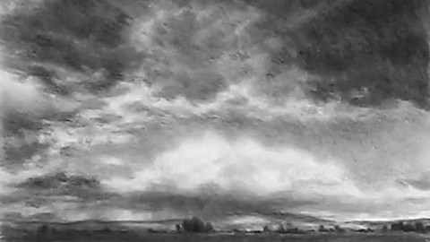 Landscapes, How to Draw Skies in Charcoal