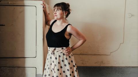 FALDA SWING - Diseña y aprende a coser tu propia falda