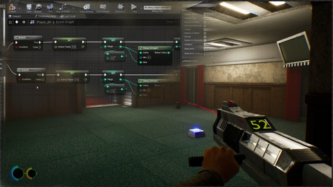 Unreal Engine 4 First Person Shooter: Lifeforce Tenka Clone