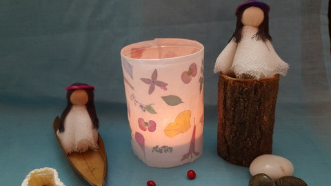 Nature Lantern and Fairy Doll Making