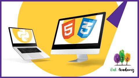 HTML, CSS & Python Django Full Stack for Web Development
