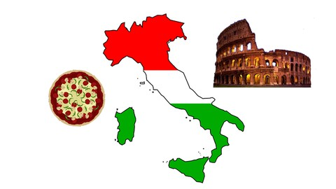 The Italian course for English speakers.