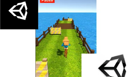Unity game development course - make a 3d Runner gaming app