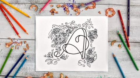 Hand Lettering Secrets: Create your own floral alphabet