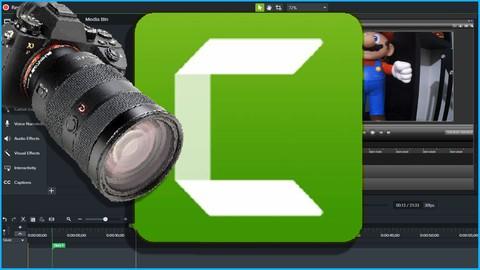 CAMTASIA Studio 8 e 9 - Aprenda editar vídeo.