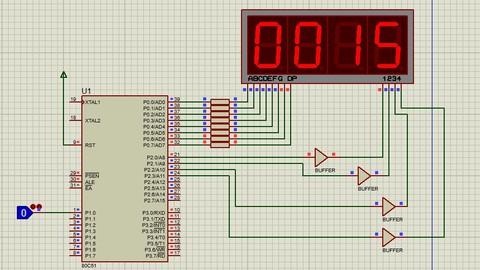 8051 Assembly Dili ve Kodlaması Sıfırdan Anlatım - Proteus