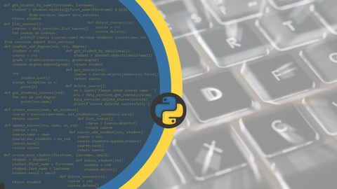 Mastering python - From Scratch