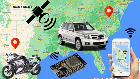 Real-time vehicle tracking system using ESP32 2021