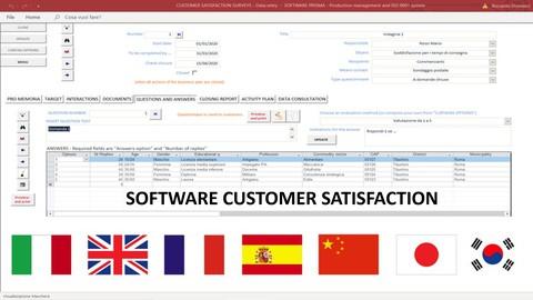 Soddisfazione cliente - Customer - Software license