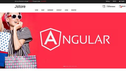 Apprendre Angular par la création d'un site e-commerce 2021