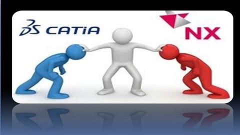 CATIA V5R20  X  NX 11.0 SIEMENS