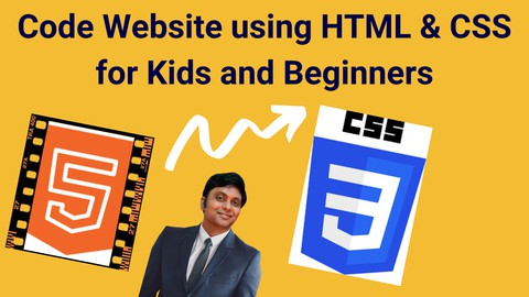 Coding for Kids - Create Website using HTML and CSS