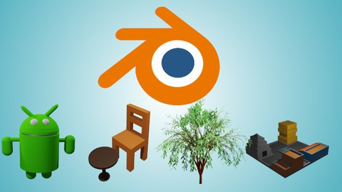 Learn Blender Fundamentals and Develop Low Poly 3D Models