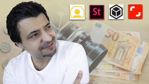 الدليل الكامل لكسب المال من خلال بيع الصور ومقاطع الفيديو