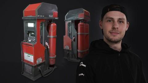 Blender Sci fi Game Asset Creation with Emiel Sleegers