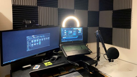 Build a spare room studio for rapid video and audio creation