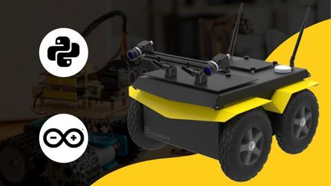 Robótica con Python y Arduino: Robot móvil diferencial