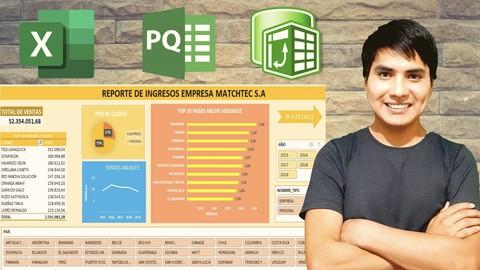 Automatización de datos en Excel con Power Query