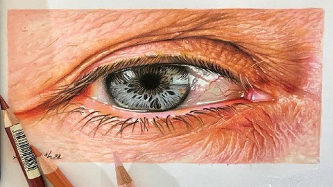 Realistic Pencil Drawing Course: Art of Realistic Eye Draw