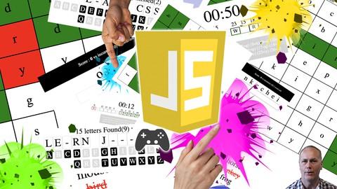 JavaScript Create 5 Fun Word Games make your own Web Games