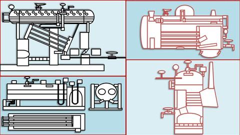 Boilers OR Steam Generators : Parts & Working (हिन्दी में )