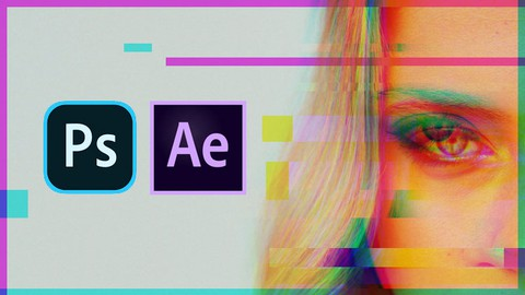 Glitch Effects in After Effect and Photoshop