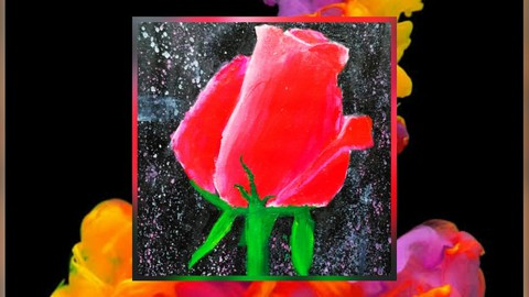 Learn Flower Acrylic Painting - Let's Paint With Acrylics