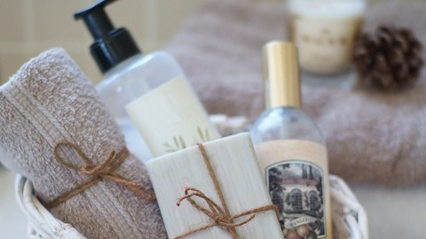 Natural Bar Soap & Liquid Soap from Scratch, Complete Course