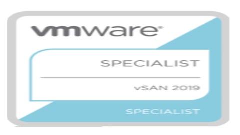 VMware vSAN 6.7 Specialist Exam 2019 - 5V0-21.19