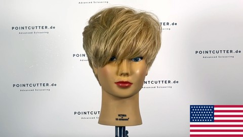 Systematic Haircutting - The Classic Pixie