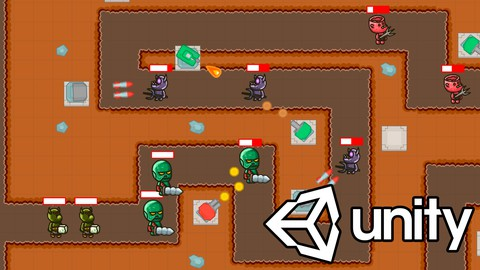 Learn how to create a 2D Tower Defense Game in Unity 2021