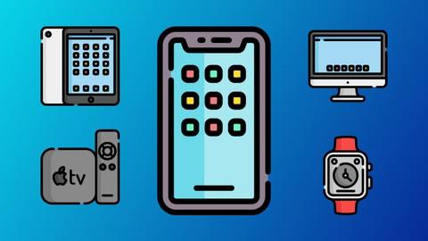 SwiftUI 2.0 Apps on iPhone, iPad, Mac, Watch & TV