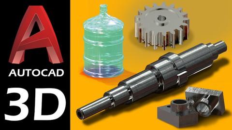 AutoCAD 2021 - 3D do Básico ao Avançado