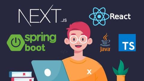 Fullstack  Next.js + Spring Boot, React, TS e Jasper Reports