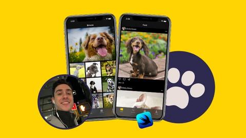 iOS 14 & SwiftUI: Build Instagram-like app w Google Firebase