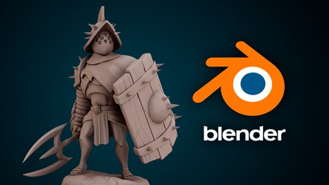 Character sculpting with blender: Create a stylized warrior