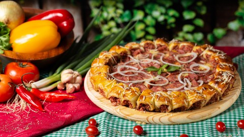 Learn Baking: Make Pizza/Burger/Cake/Buns/Bread & Many More