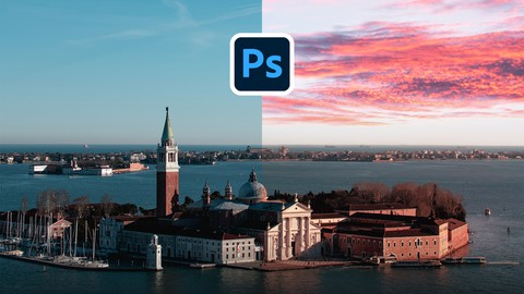 Adobe Photoshop cc 2020: How to replace the sky in ANY image