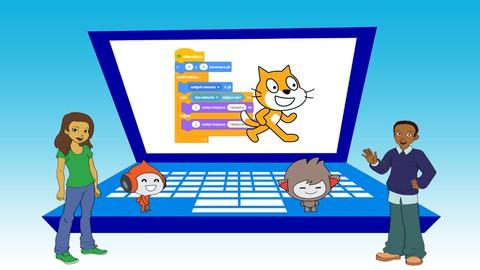 Çocuklar için Uygulamalarla Scratch 3 ile Kodlama