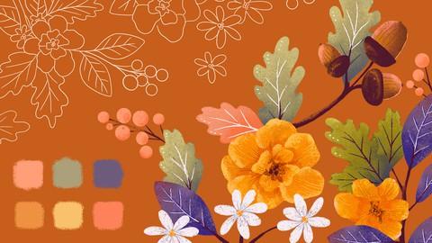 Vibrant Color Palettes in Procreate 5X
