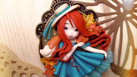 Creazione di una Doll con paste polimeriche I sogni di Gaia