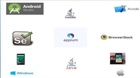 Appium Mobile Automation - Java - Android & IOS Apps & Cloud